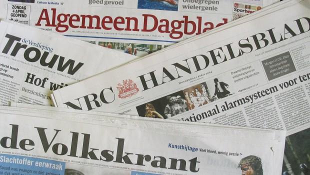 Top 10 meest gelezen kranten Nederland