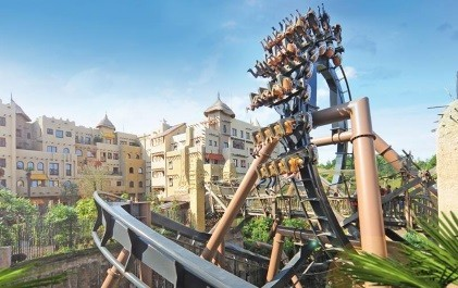 Top 10 Attracties in Phantasialand