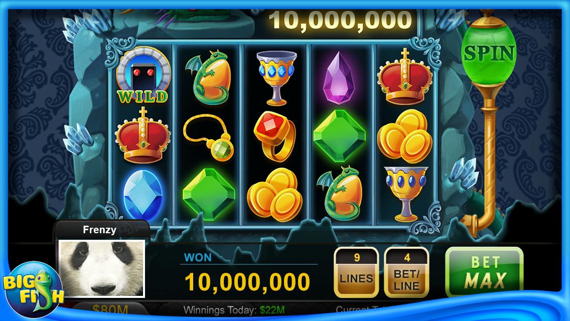 Big Fish Casino app afbeelding