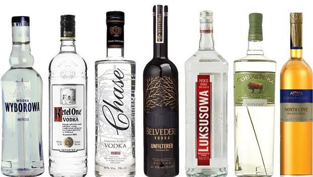 Top 10 Vodka Mixen